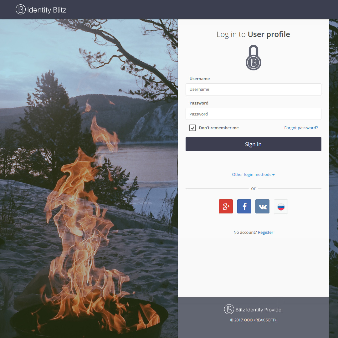 User Interface Customization - Large variety of pre-configured designs